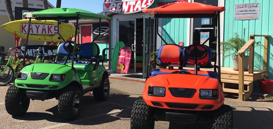 Golf Cart Rentals Port Aransas Tx Surf Rentals